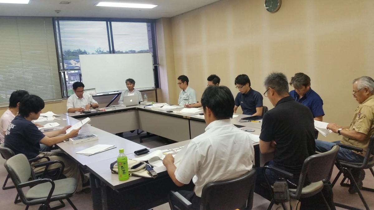 2016/07/19 愛知県古民家再生協会日進支部例会