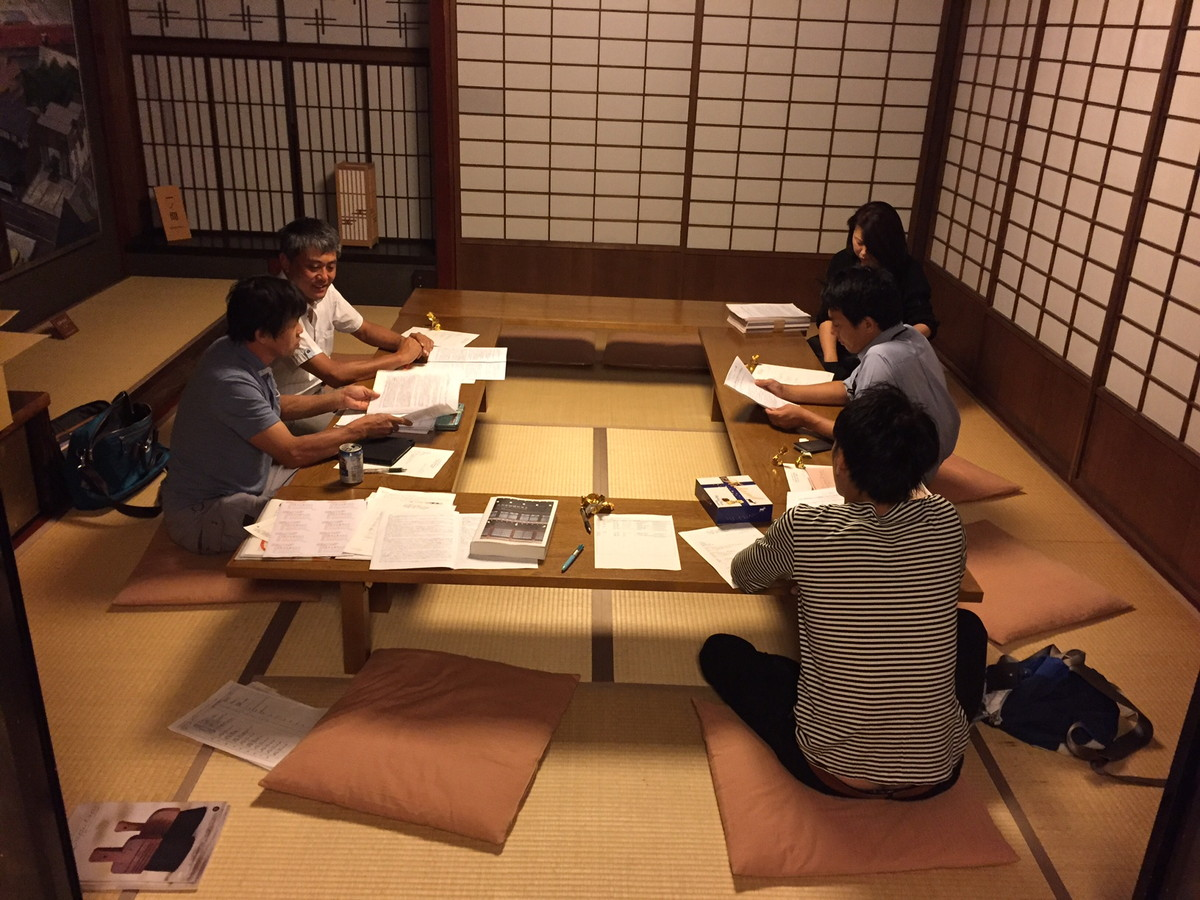 2016/09/13 古民家再生協会石川例会