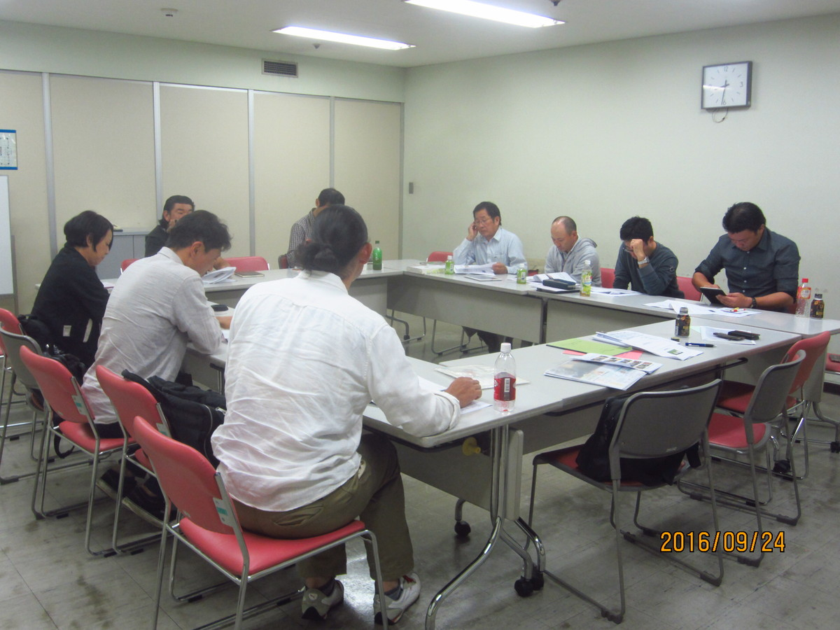 2016/09/24 古民家再生協会神奈川例会