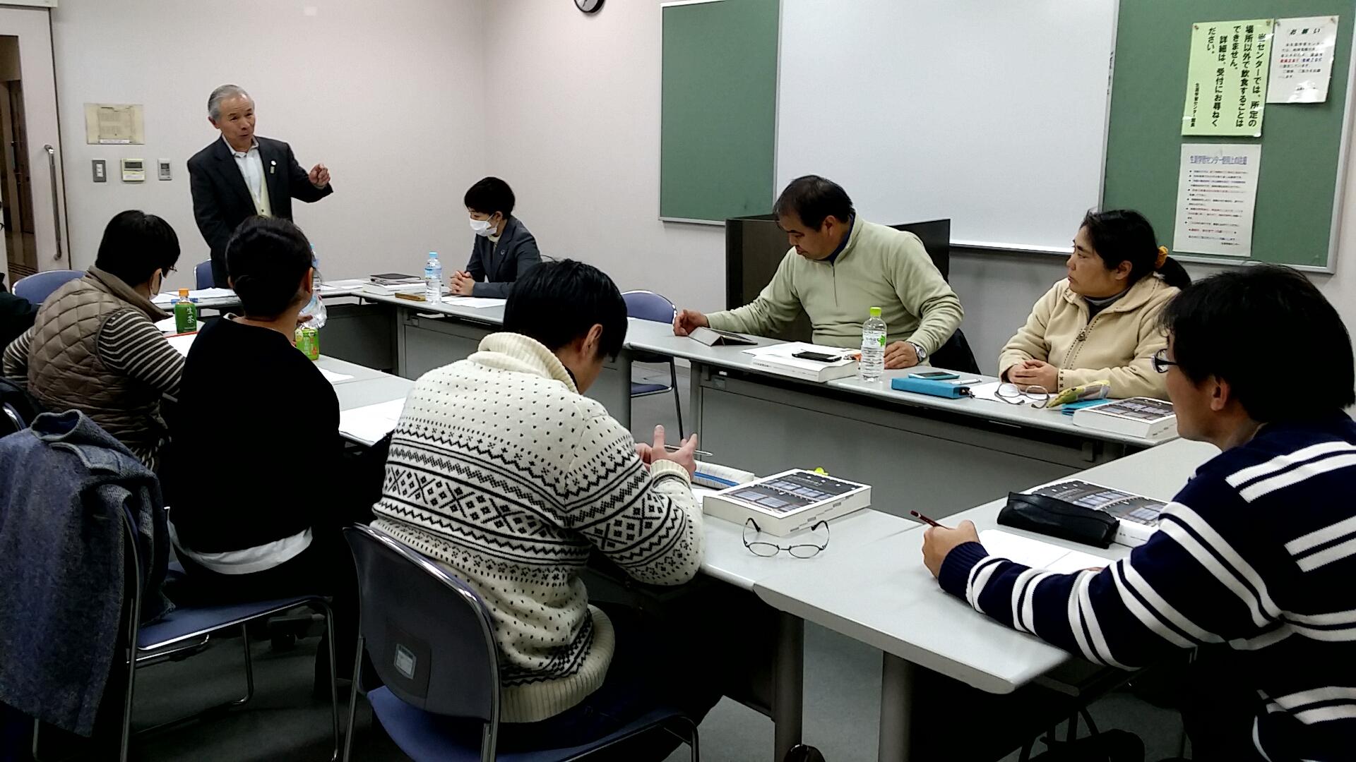 2017/01/22 福岡県古民家再生協会例会