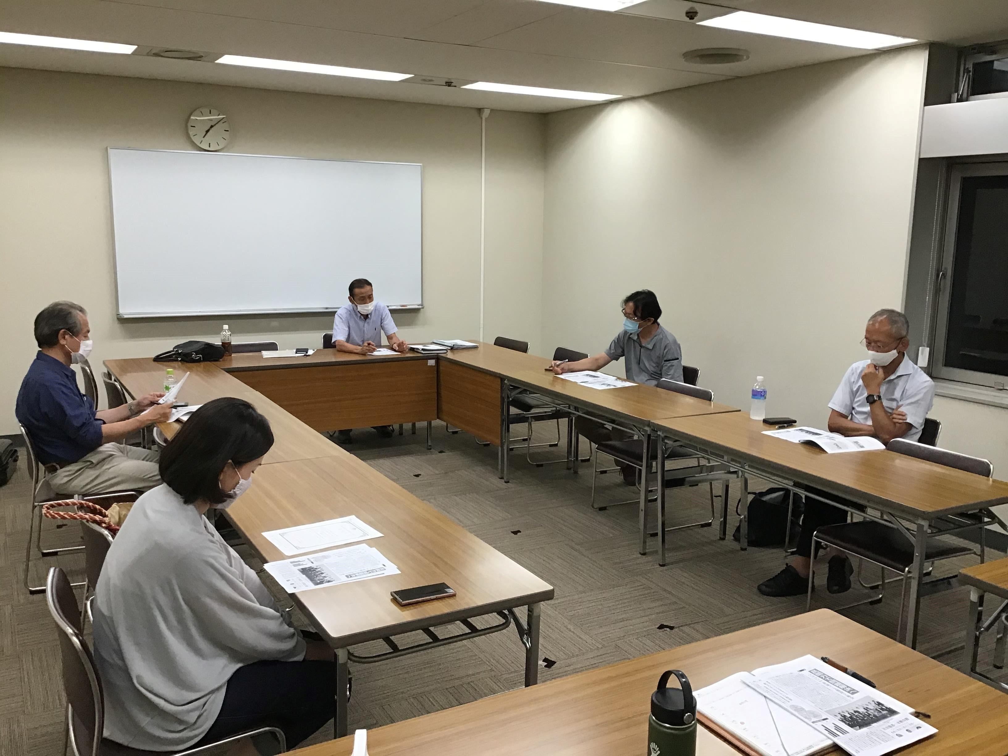 2020/08/18 愛知県古民家再生協会例会