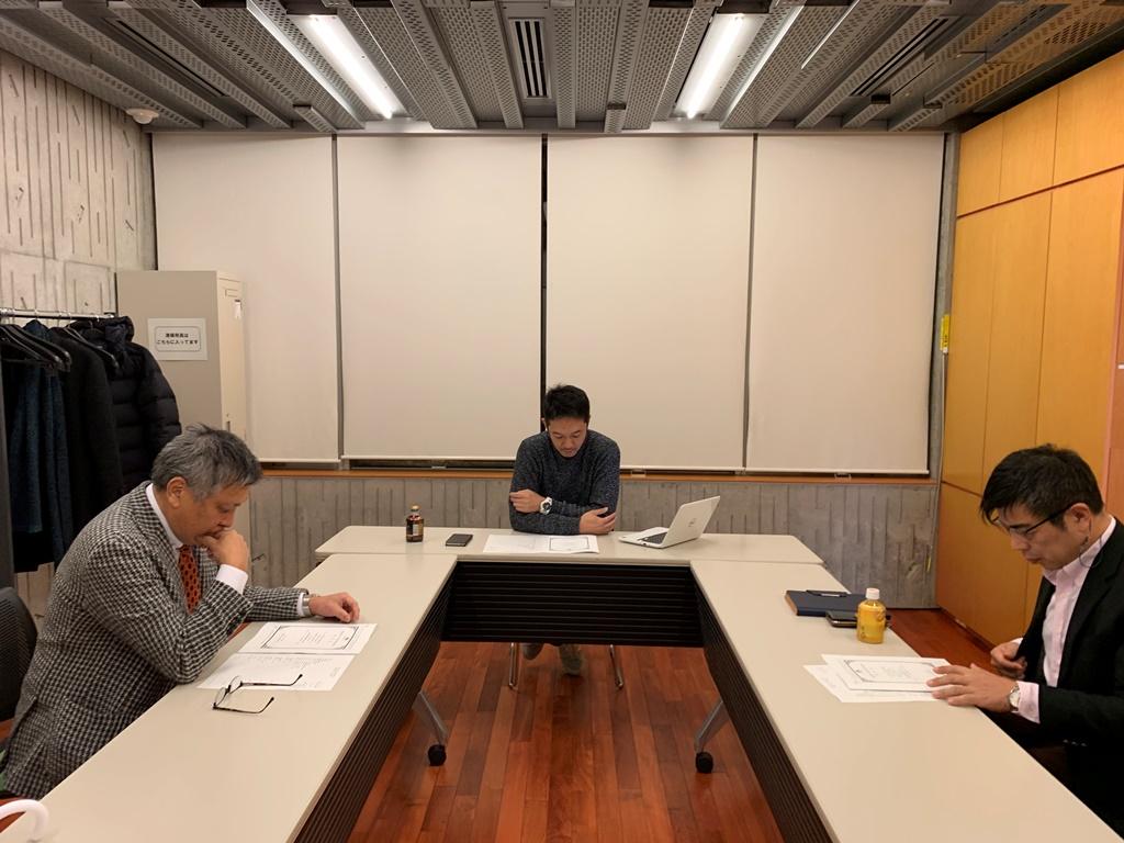 2019/01/15 新潟第一支部 例会